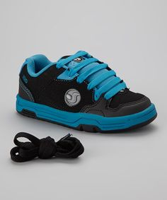 Take a look at this Black & Teal Havoc Sneaker by DVS Shoe Company on #zulily today!