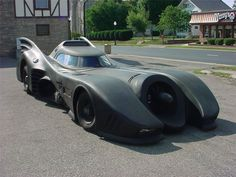 "1995 Chevrolet Caprice Classic Custom Gotham Cruiser.""Batmobile"",with real working .30 caliber machine guns that fires oxygen and propane, street legal."