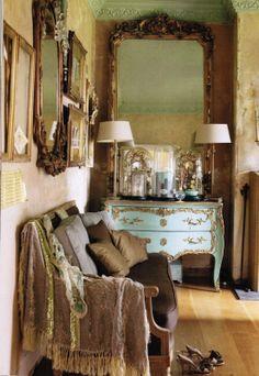Romantic Style Book - my lounge © Styling, Location & Props @Doug Krugman Martin Blue Photography Debi Treloar