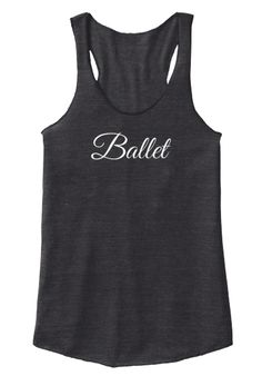 Ballet Dancer Tank Top #dance #dancer #dancers #dancing #ballet #tap #jazzdance #moderndance #tapdancer #pointe #ballerina #hoofer #tapdancing #balletdancing #balledancer #dancemom #dancemoms #jazzdancer #danceteacher #competitiondancer #dancewarmup #dancewarmups #danceclothes