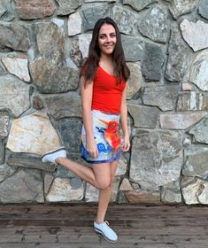 Ellen's Sewing Passion: Dress with a Bird :) Orange Bird, Orange Color, Refashion Dress, Long Sleeve Shirts, Short Sleeves, Sporty, Passion, Sewing, T Shirt