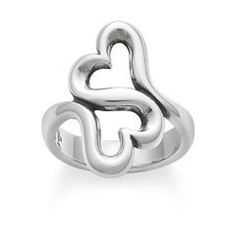 James Avery: Heart to Heart Ring Worn. Still in great condition. Just take to Your local James Avery store and they can clean/polish it for you. I wear an 8.5/9 in ring sizes from James Avery, and this fits fine. ***will ship 01/20/2016 when I get back to school so keep this in mind*** James Avery Jewelry Rings