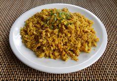 Quinoa met roerei - gezond ontbijten, glutenvrij, zonder melk