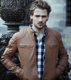 mensfashionworld:  Arma Leder Autumn/Winter 2014