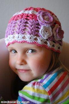 ŘO – řetízkové oko<br>DS – dlouhý sloupek<br>KS – krátký sloupek<br>PDS - polodlouhý sloupek<br><br>... Crochet Baby, Desi, Beanie, Children, Hats, Fashion, Caps Hats, Young Children, Moda