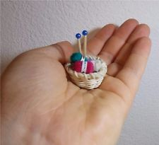 Cesto per la lana in miniatura