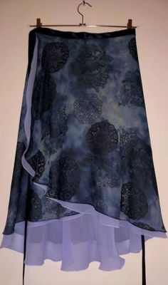 Ballroom Tango Skirt : Wind Machines by LibertasAtelier on Etsy