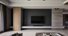 How to make your Home Interior Decorating successful? Living Tv, Living Room Tv Unit, Living Room Modern, Interior Design Living Room, Modern Interior, Interior Architecture, Living Room Designs, Interior Decorating, Tv Wall Design