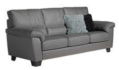 Kotimainen OLIVIA-sohva on linjakas. Laulumaa Huonekalut