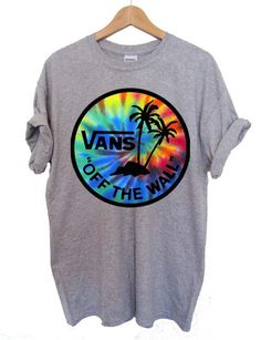 vans tie dye T Shirt Size S,M,L,XL,2XL,3XL unisex for men and women Your new tee will be a great gift, I use only quality shirts