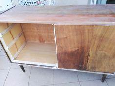 Metamorfoza komody Retro Basset z lat 60 - tych - Rub & Paint Retro, Storage, Painting, Furniture, Home Decor, Purse Storage, Decoration Home, Room Decor, Larger