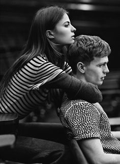 BENJAMIN EIDEM & CAMERON RUSSELL BY LACHLAN BAILEY FOR MAN ABOUT TOWN SPRING/SUMMER 2013