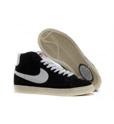 the best attitude b5e27 b09f2 Nike blazer high vintage suede noir blanc soldes-20