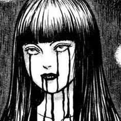 junji ito caps i like Junji Ito, Arte Horror, Horror Art, Aesthetic Anime, Aesthetic Art, Manga Art, Anime Art, Arte Emo, Horror Drawing
