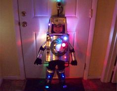 If you're going for a futuristic costume, LEDs are a must-have.