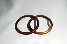 Vintage Set of 2 Wood Grain Plastic Bangle Bracelets Circa / by… Bangle Bracelets, Bangles, Color Themes, Vintage Wood, Wood Grain, Jewelry Collection, Vintage Jewelry, Great Gifts, Plastic