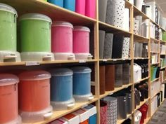 Dorm room shopping at the Container Store for easy organization