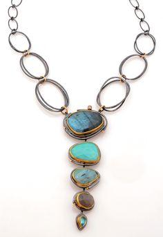 Tulum Cascade necklace by Sydney Lynch