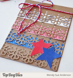 Tutorial: Make a Layered Card With the Laurel Lace Border Die