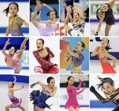 This sequence of photos (from top left to right) shows skating performances by Mao Asada every year from 2005 to 2016. | KYODO (2000×1874) http://www.japantimes.co.jp/sports/2017/04/11/figure-skating/mao-asada-fans-older-sister-express-shock-retirement/#.WO-E40XyjMw