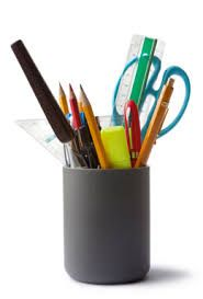 Image result for office stationery Office Stationery, Knife Block, Office Supplies, Prints, Image