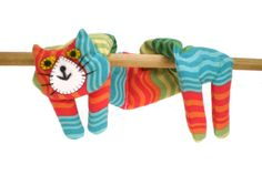 Flat Cat Rice Heat Cold Pack Microwavable by MustHaveBeenTheCat, $25.00