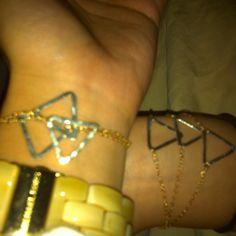 Tri Delta bracelet my friend has!