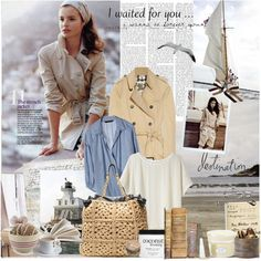 """""""Sail away, its time to leave.."""" by romanticgirl ❤ liked on Polyvore"""