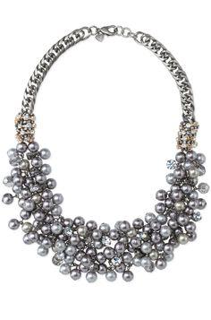 Isadora colar de pérolas Bib