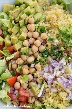 Potato Salad, Avocado, Food And Drink, Healthy Eating, Potatoes, Vegetarian, Vegetables, Ethnic Recipes, Sweets