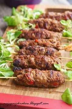 Grilling Recipes, Meat Recipes, Fall Recipes, Cooking Recipes, Cevapcici Recipe, Good Food, Yummy Food, Healthy Eating Recipes, Best Appetizers