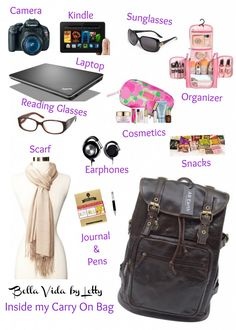 What's inside my carry on bag travel tips summer vacation