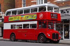 Classic London Transport AEC Routemaster / Park Royal RM2116, CUV 116C taking part in the special RM1 60th anniversary road run on route 2 from Golders Green to Crystal Palace