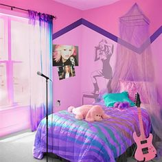 If I had a bedroom like this one if never have trouble sleeping or going to bed!