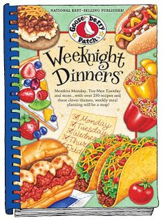 Gooseberry Patch Weekend Dinners Recipes & Giveaway ends 2/24