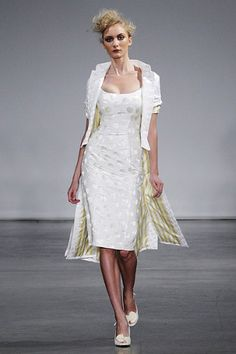 L'Wren Scott                          's satin dress is a shorter alternative.  I could so picture Marilyn Monroe in this!