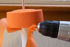 Maize Hutton: How to make paper twine from crepe paper DIY