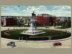 Lee Circle (Monument Avenue)    Richmond, Virginia - 1928
