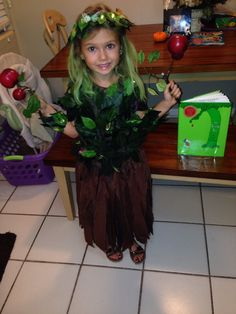 The giving tree costume i made my daughter for storybook character similar ideas the giving tree costume solutioingenieria Choice Image