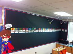 Third Grade Rock Stars: Super Hero Classroom Theme