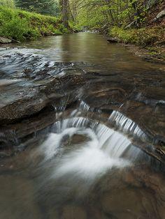 Spring Creek, Shawnee State Forest Scioto County, Ohio, USA