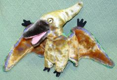 Ty Dinosaur Beanie Babies SWOOP the Pterodactyl & Beanie Buddy Plush Stuffed Toy