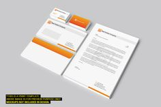 Real Estate Corporate Identity by Arslan on Creative Market