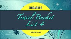 Singapore   Travel Bucket List 4. Welcome to Singapore, the Lion City! A beautiful cosmopolitan First World City close to the equator in South East Asia. A cultural melting pot, Singapore is home to 5.5 million people. Find in here useful Travel Tips and Guides to all the must see Scenic Spots and favorite destinations to visit!