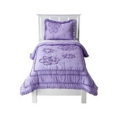 Circo® Ruffle Quilt - Purple (Twin) :   Customer Discussions and Customer Reviews.