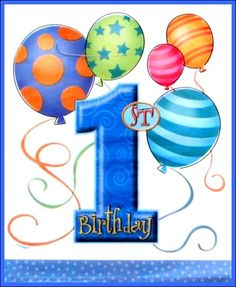 28 Ideas baby first birthday quotes children for 2019 1st Birthday Quotes, 1st Birthday Wishes, Happy Birthday Kids, Happy Birthday Balloons, Happy 1st Birthdays, 1st Boy Birthday, Birthday Greetings, Birthday Clips, Milestone Birthdays