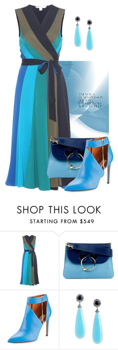 """Bits of Blue!"" by flippintickledinc ❤ liked on Polyvore featuring Diane Von Furstenberg, J.W. Anderson and Valentino"