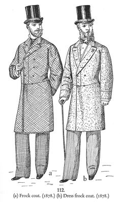 vintage gentleman in frock coat - Google Search