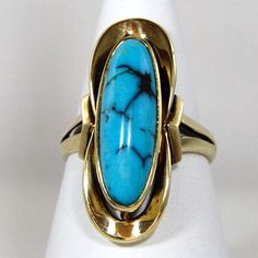 1960s #turquoise ring