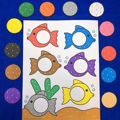 "19 Likes, 1 Comments - Shelley Lovett (@shelleylovett) on Instagram: ""fish color match file folder game childcareland.com/home/fish-color-match #homeschool #kindergarten…"""